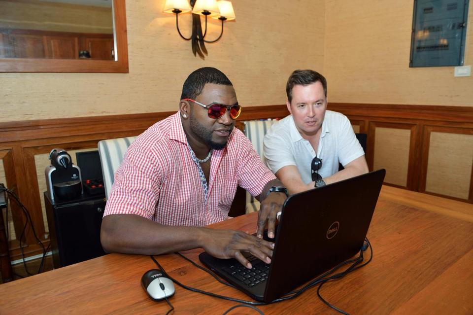 David Ortiz conducted a chat with Boston.com readers during his golf tournament.