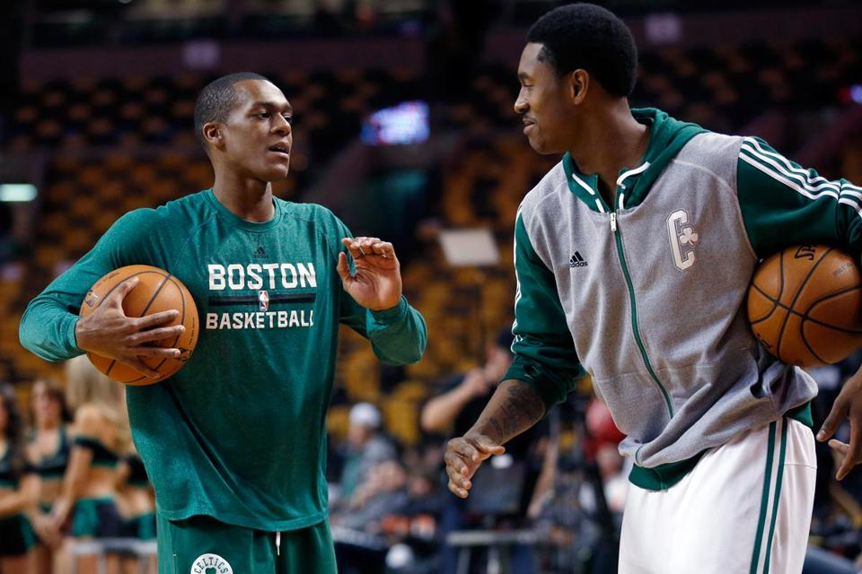 Rajon Rondo has been participating in drills since October.