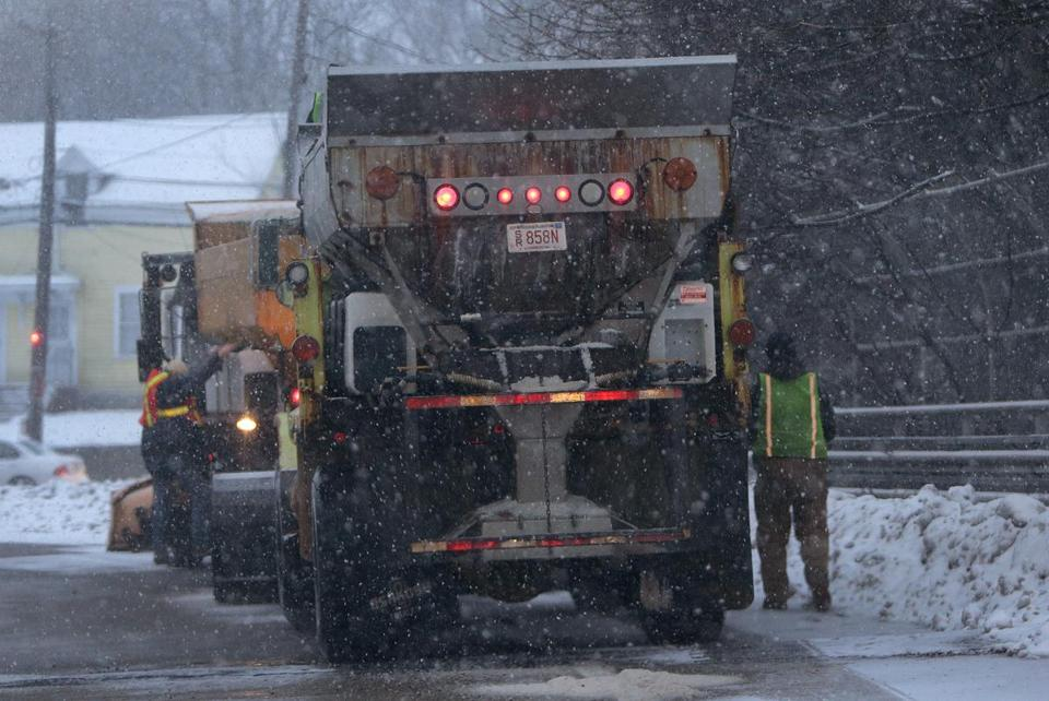 The city of Boston has used up about $10 million of its $18.5 million budget for snow removal.
