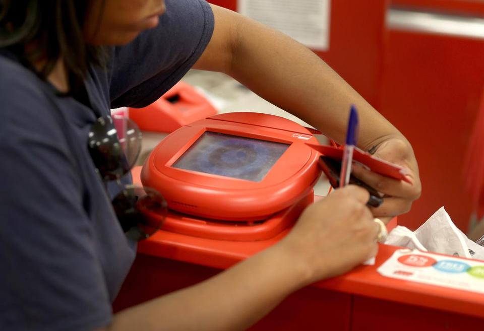 Target says anyone who made purchases by swiping cards at terminals in its US stores between Nov. 27 and Dec. 15 may have had their accounts exposed.