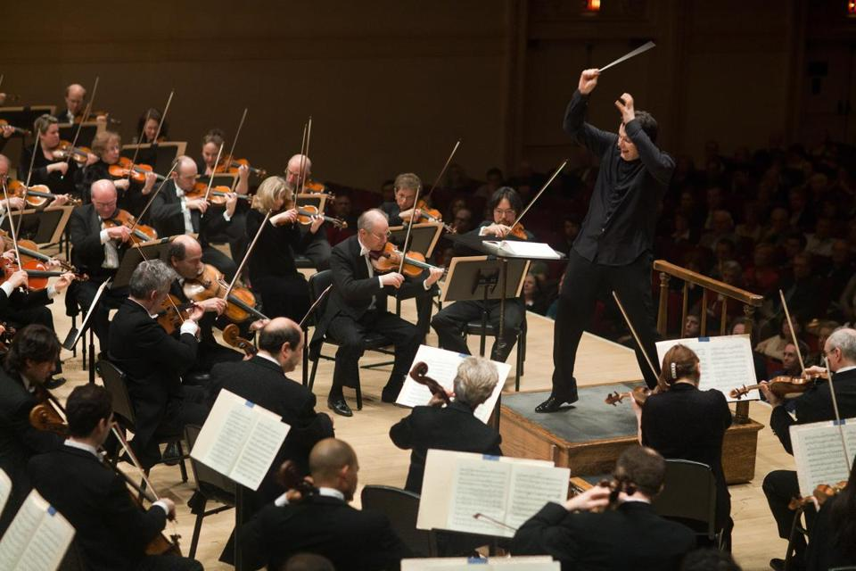 Andris Nelsons and the BSO (pictured in 2011) will play three Carnegie Hall programs in April 2015.