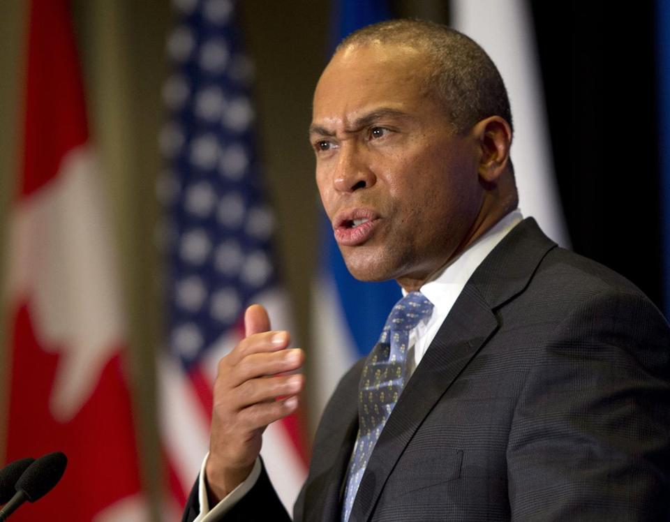 Deval Patrick does not recall ever meeting his first cousin Reynolds Allen Wintersmith Jr., whose drug sentence was commuted by President Obama, the governor's spokeswoman said.