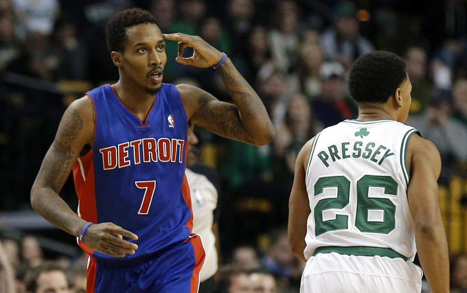 Moving from Milwaukee to Detroit has provided a fresh start for Pistons guard Brandon Jennings.