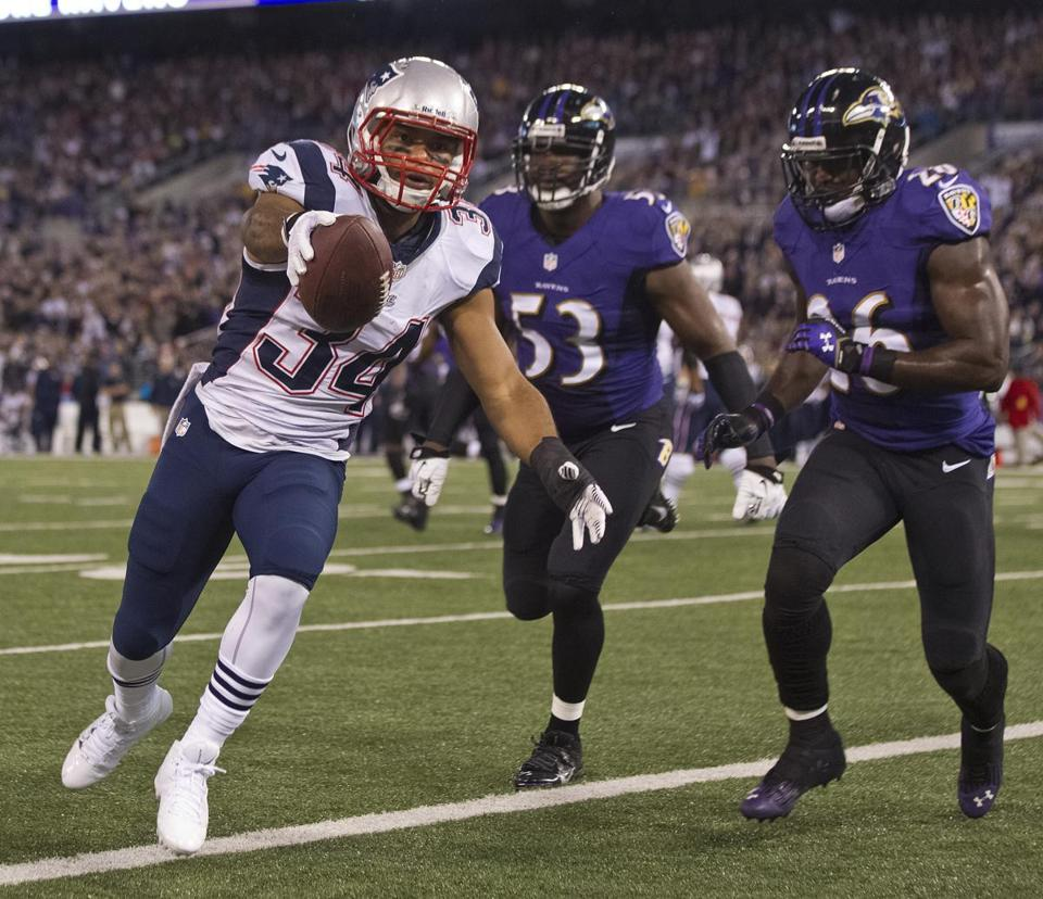 Shane Vereen got the Patriots pointed in the right direction with a first-quarter TD catch.