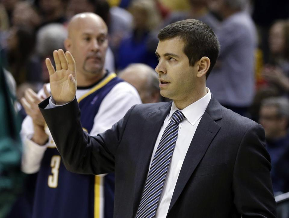Coach Brad Stevens got a warm welcome in his return to Indiana, but the numbers didn't add up for his Celtics in a blowout loss to the Pacers.