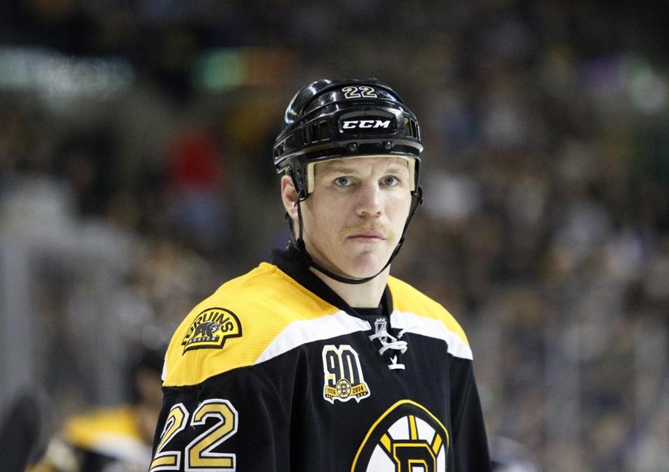 Bruins forward Shawn Thornton is ready to return to game action.