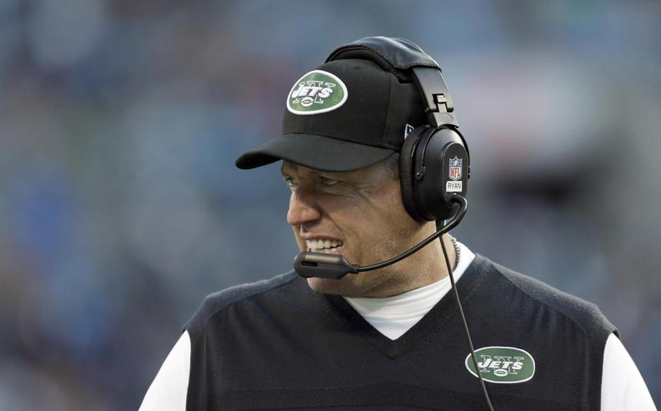 "Jets coach Rex Ryan reportedly told his players last week that the ""buzz on the street"" was that he was going to get fired after this season."