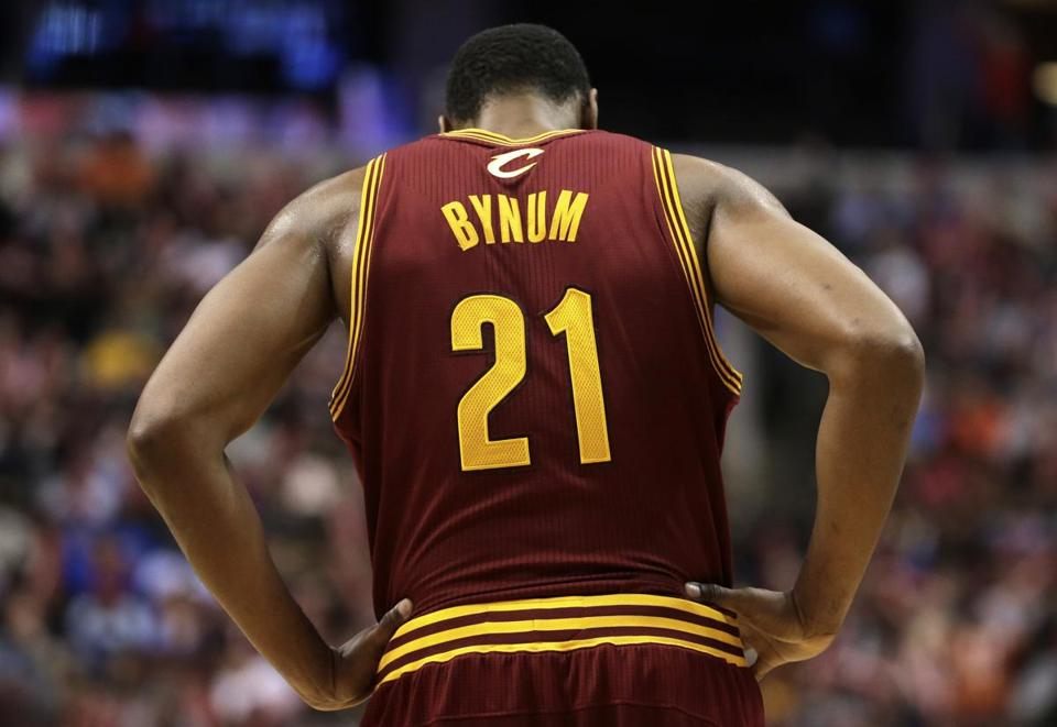 "The Cavaliers on Saturday indefinitely suspended center Andrew Bynum for ""conduct detrimental to the team."""