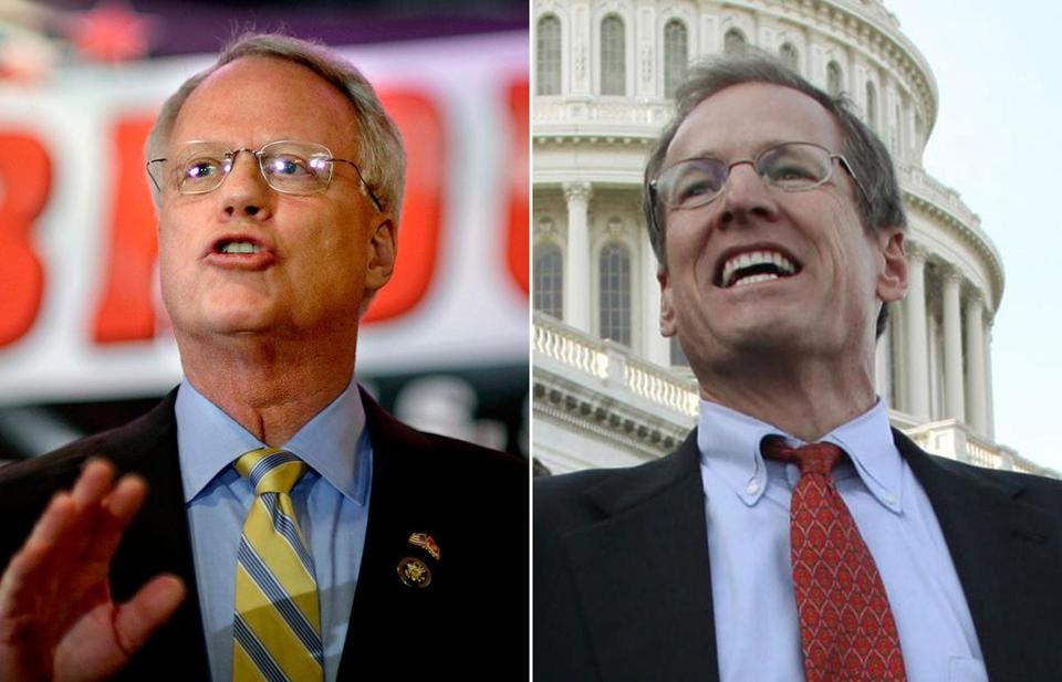 Paul Broun (left) and Jack Kingston are GOP rivals in Georgia.