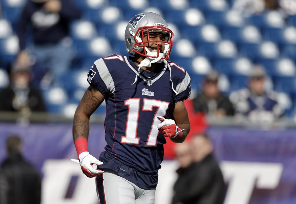 Aaron Dobson has practiced all week, but he remains questionable for Sunday's game.