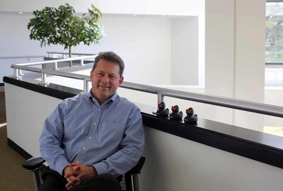Lou Shipley, the newly appointed chief executive of Black Duck Software Inc.