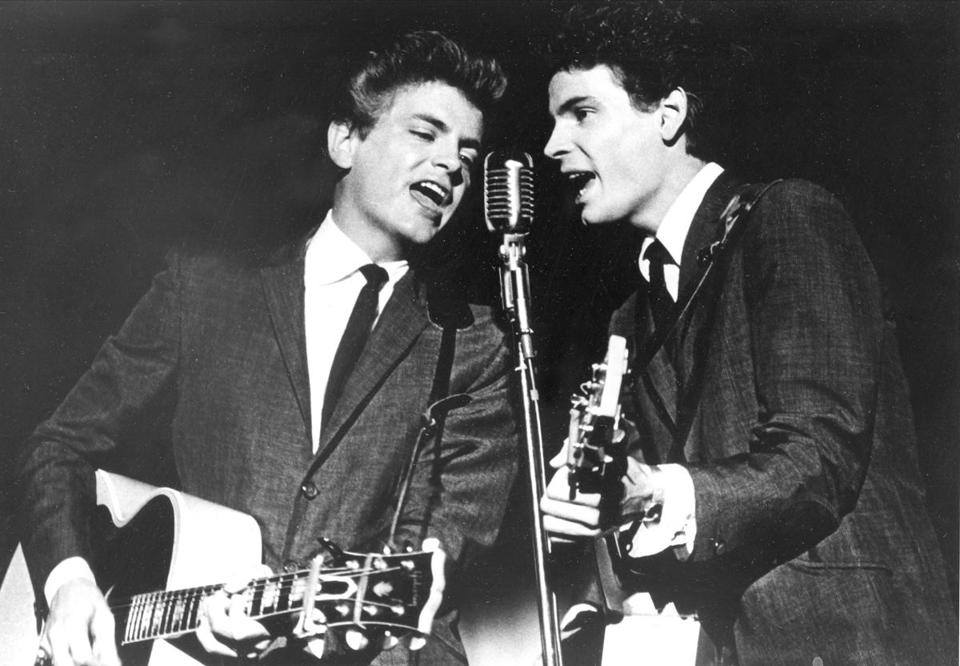 The Everly Brothers, Don and Phil, formed an influential harmony duo that touched the hearts and sparked the imaginations of rock 'n' roll singers for decades, including the Beatles and Bob Dylan.