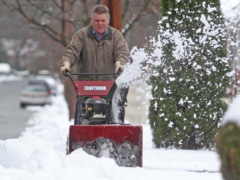 A December storm last year in in Wilmington, Del.,  put snow blowers to the test.