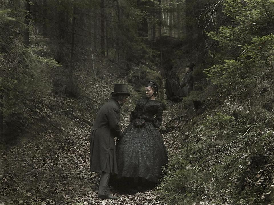 "Johannes Zeiler and Isolda Dychauk (foreground) in Alexander Sokurov's ""Faust."""