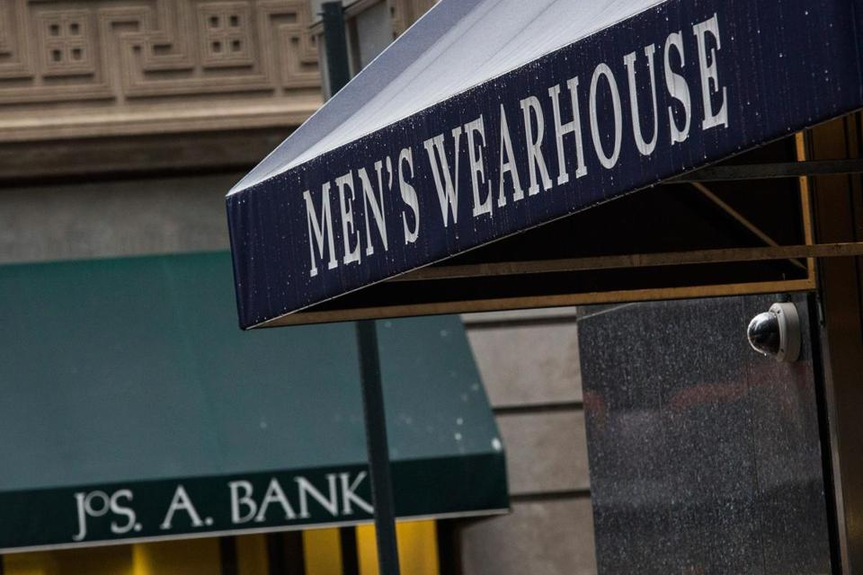 The Men's Wearhouse Inc. is now offering $57.50 per share, or $1.61 billion, for Jos. A. Bank. Analysts say a combination would allow the chains to dramatically cut costs.