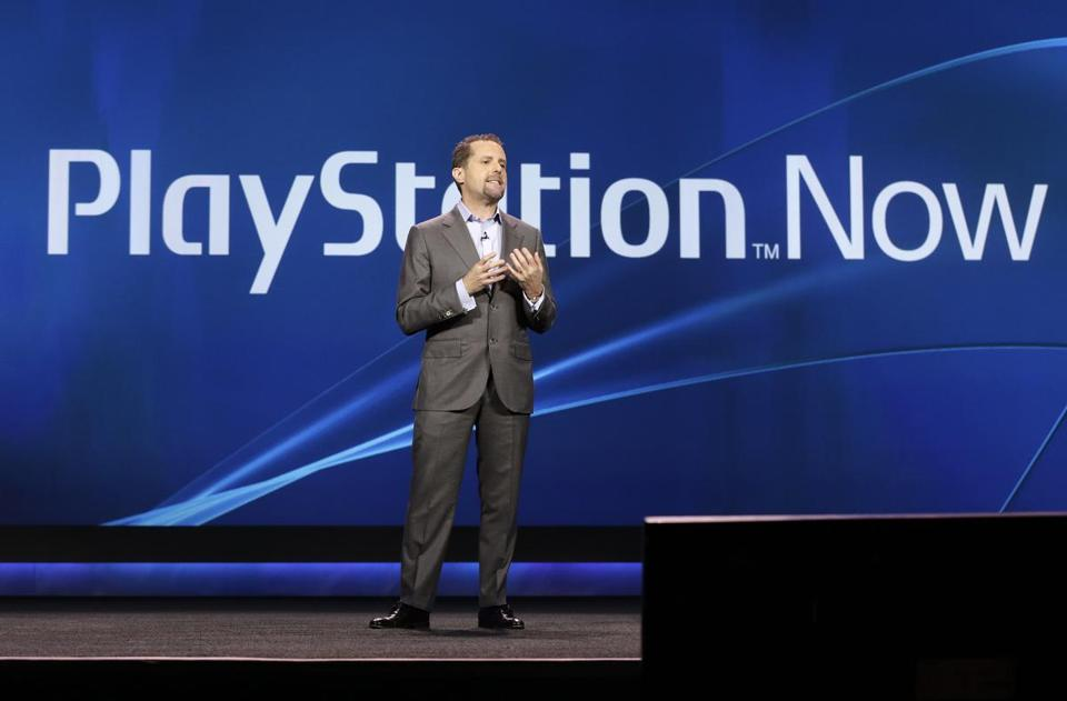 Sony president and group CEO of computer entertainment, Andrew House, spoke at the International Consumer Electronics Show on Tuesday.