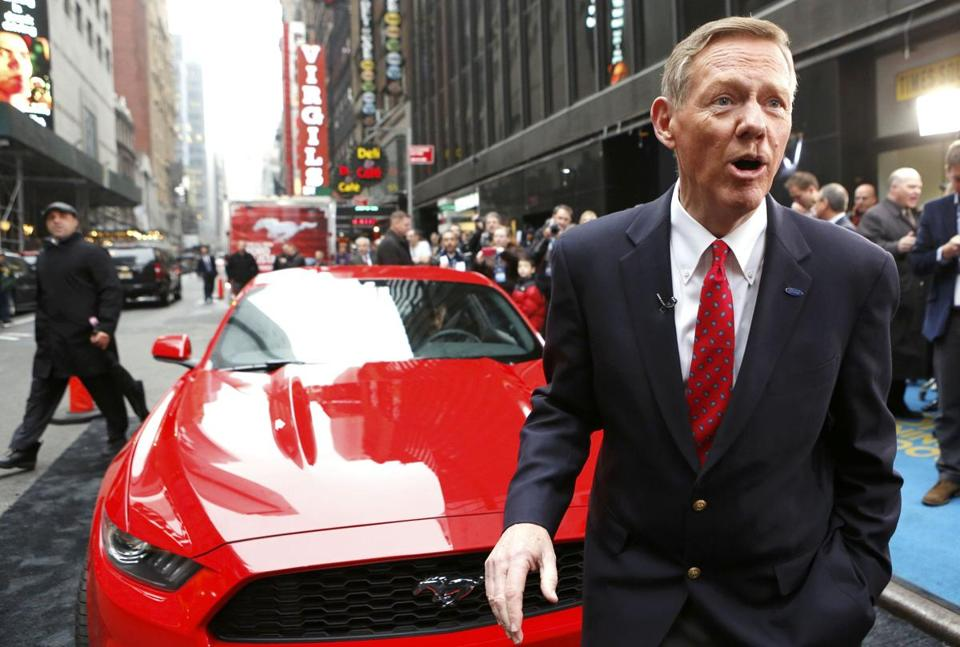 Alan Mulally is credited with bringing a collabor-ative culture to Ford.