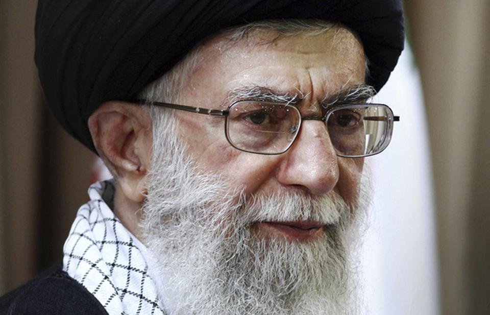 Iran's Ayatollah Ali Khamenei made remarks castigating the United States as nuclear talks resumed in Geneva.