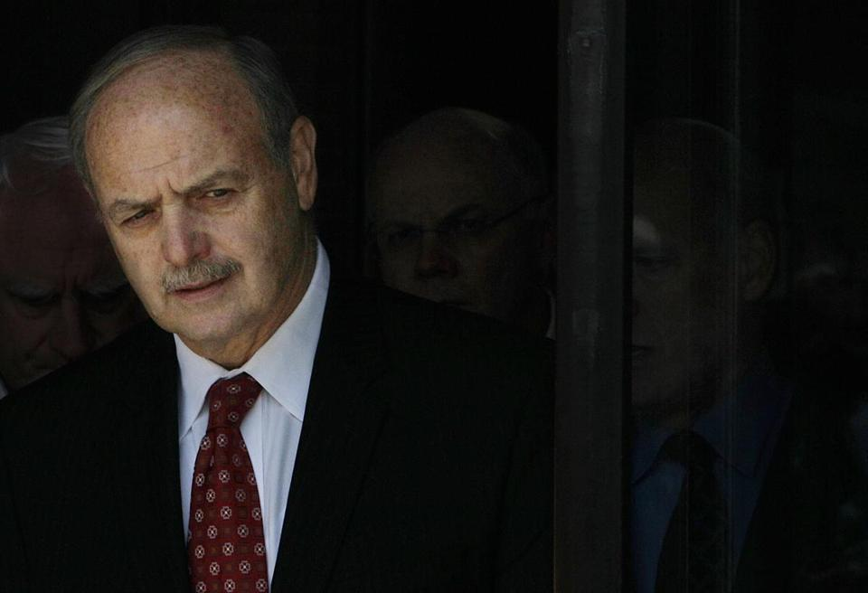 Former Mass. House speaker Salvatore DiMasi was sentenced in 2011 to eight years in prison in a corruption case.