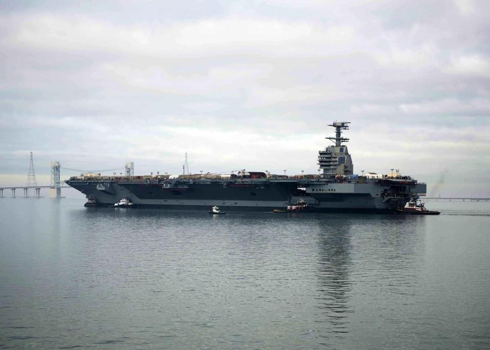Early tests are raising worries that the USS Gerald R. Ford may not meet the Navy's goal of significantly increasing the number of warplanes it can quickly launch — and could even be less effective than older vessels.