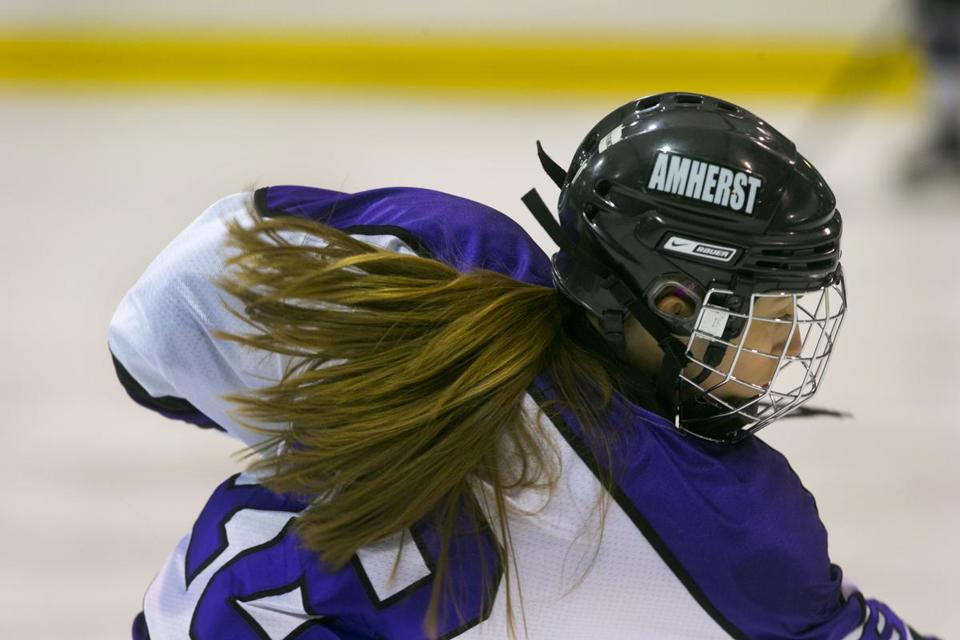 On the ice, Amherst's Avery Stone has boundless energy, and off it, she is a tireless campaigner against homophobic attitudes.