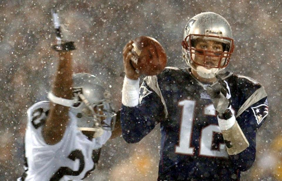 "On a snowy Saturday night in 2002 at Foxboro Stadium, Patriots fans learned all about the ""Tuck Rule."""