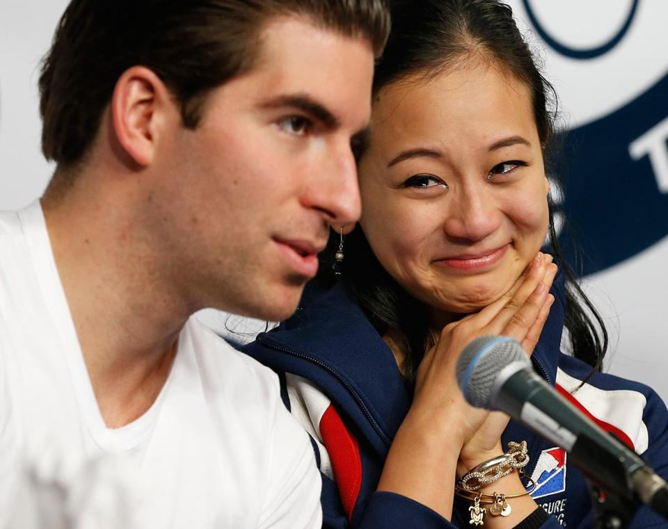 The choice of Nathan Bartholomay and Felicia Zhang in pairs is open to second guessing.