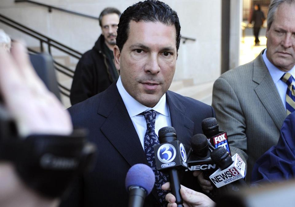 Joseph Tacopina, agent for suspended ballplayer Alex Rodriguez.