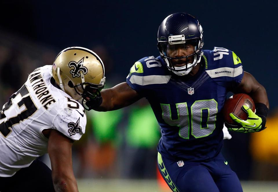 Derrick Coleman, a fullback for the Seattle Seahawks, is legally deaf.