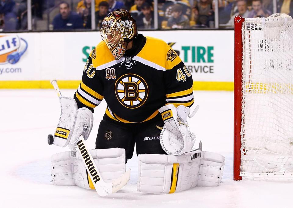 Bruins goalie Tuukka Rask has been pulled in two of his last seven outings.