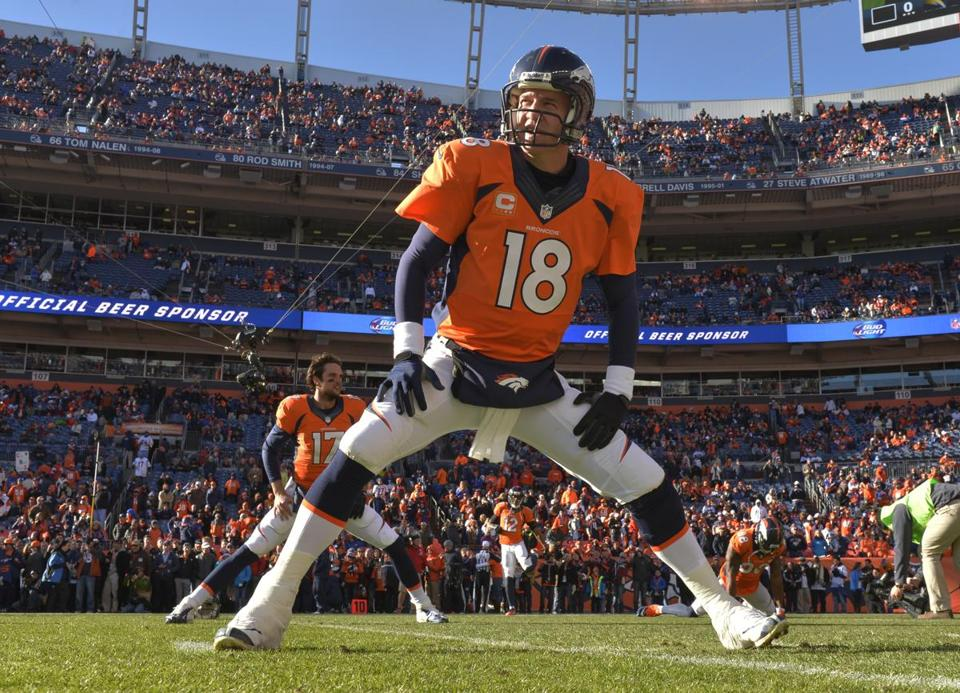 Peyton Manning wants to stretch the most he can out of his playing days, but says he's going one year at a time at this point in his career.