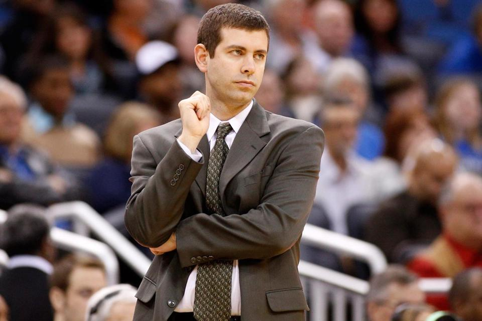Celtics coach Brad Stevens is in his first NBA campaign after spending six years as the head coach at Butler University.