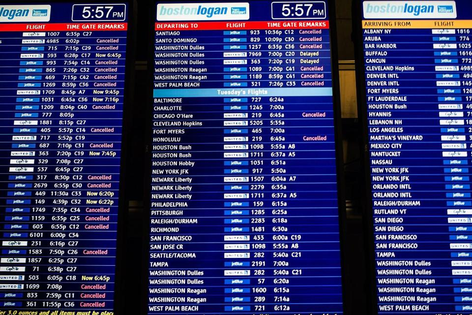 Airlines have in recent years become more proactive about canceling flights before bad weather hits.