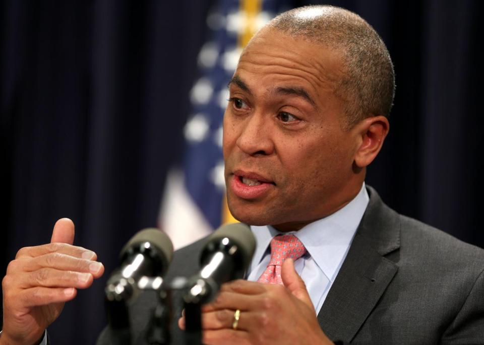 Governor Patrick has repeatedly left open the door to a White House campaign when asked about his long-term plans.