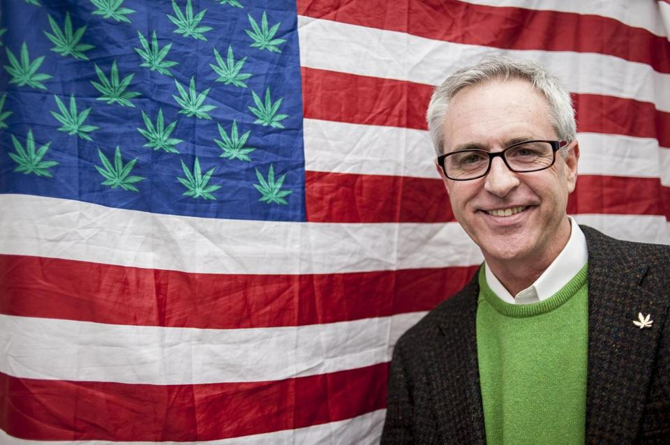 Allen St. Pierre, executive director of NORML, seeks marijuana legalization.
