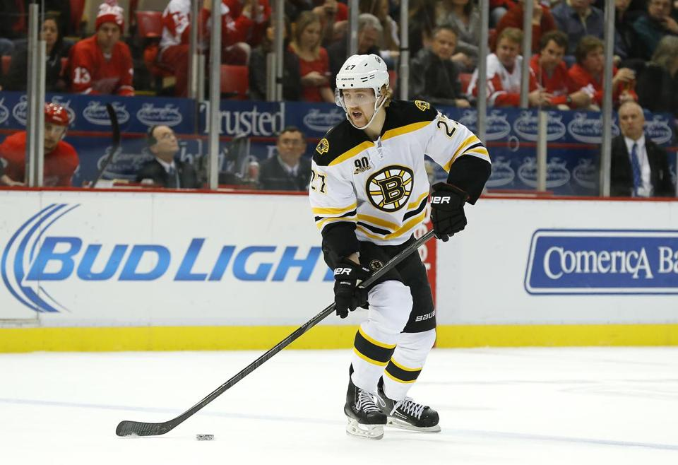 Bruins defenseman Dougie Hamilton was cleared for contact Friday.