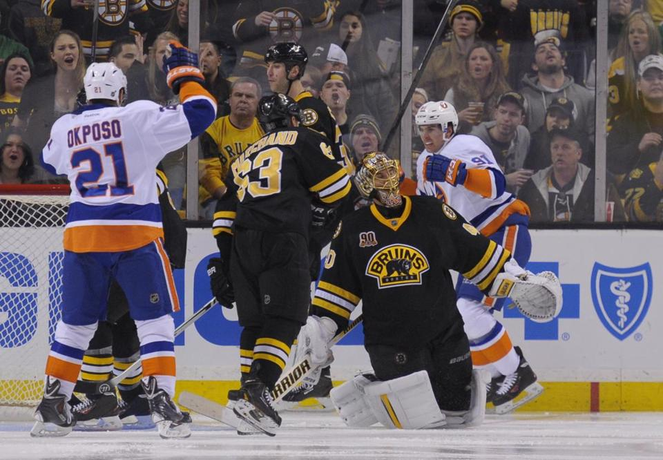 On New Year's Eve, the Islanders ended the Bruins' 2013 on a bad note, beating them at the Garden, 5-3.
