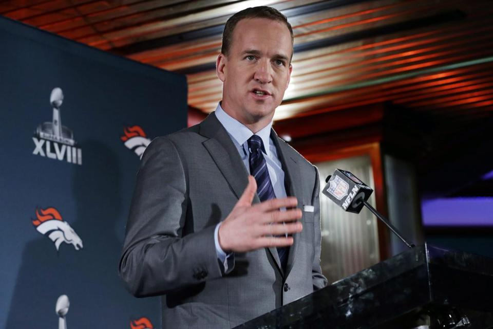 Peyton Manning was the conductor of the Broncos' record-setting offense.
