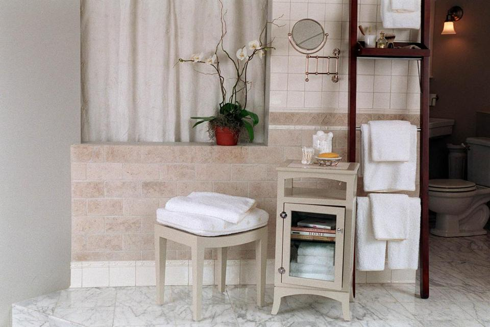 White or neutral colored grout can be paired with white tiles.