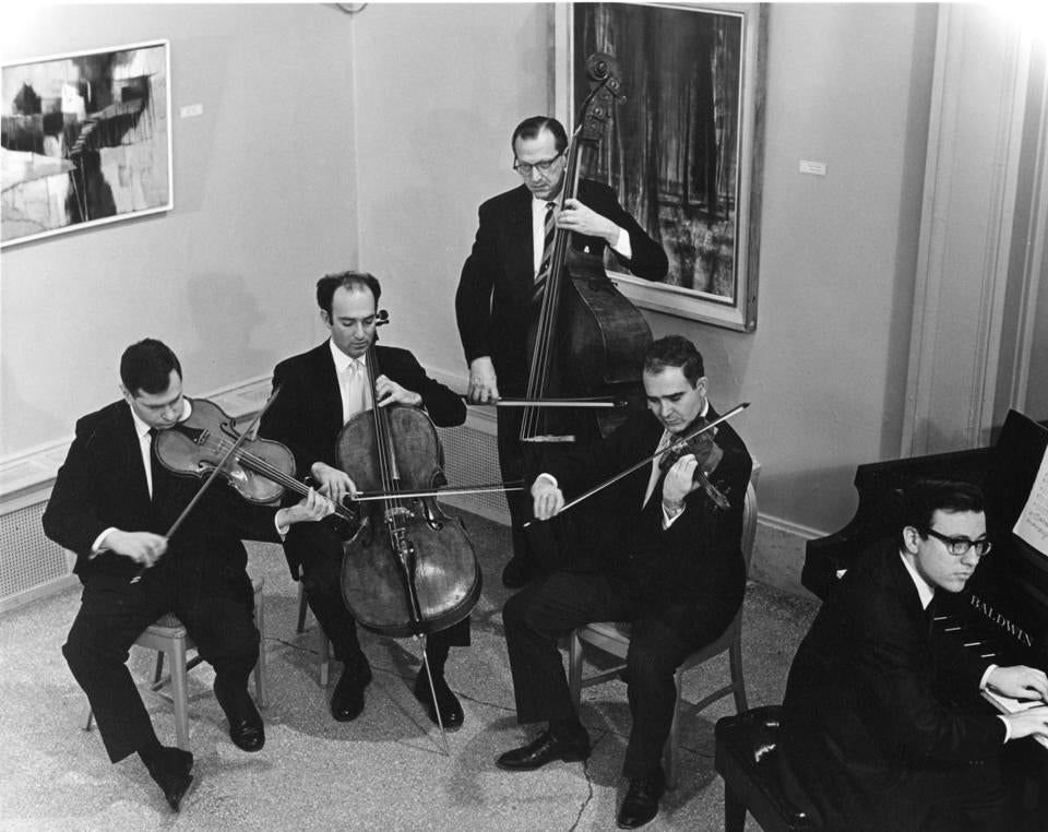 BSO chamber players in 1967.