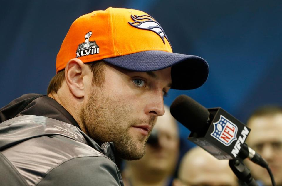 Wes Welker is headed to his third Super Bowl, this time with the Broncos.