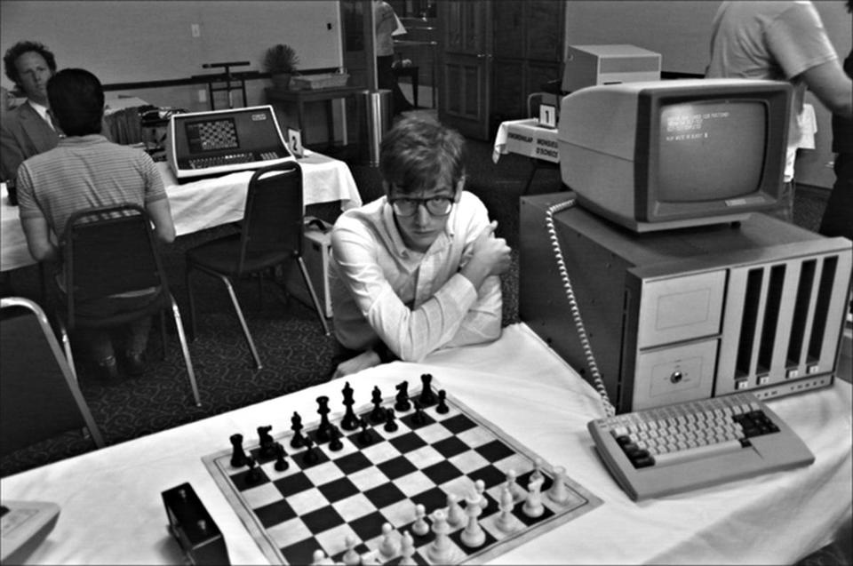 "Patrick Riester as Peter Bishton in """"Computer Chess."""