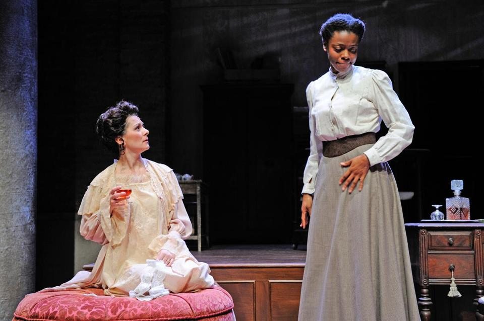 "Mia Ellis as Esther in ""Intimate Apparel,"" a play by Pulitzer Prize-winner Lynn Nottage and presented by Trinity Repertory Company."