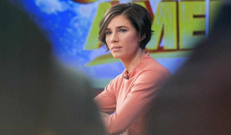 """I will never go willingly back to the place. . . .  It's not right,"" Amanda Knox said of Italy."