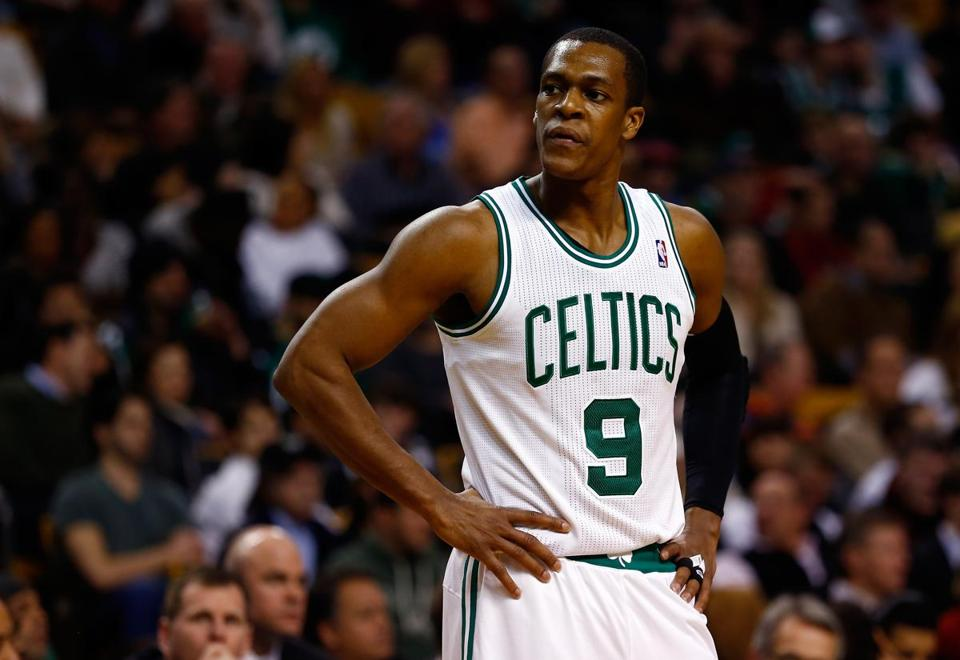 The Celtics have lost all six of their games this season with Rajon Rondo in the lineup.