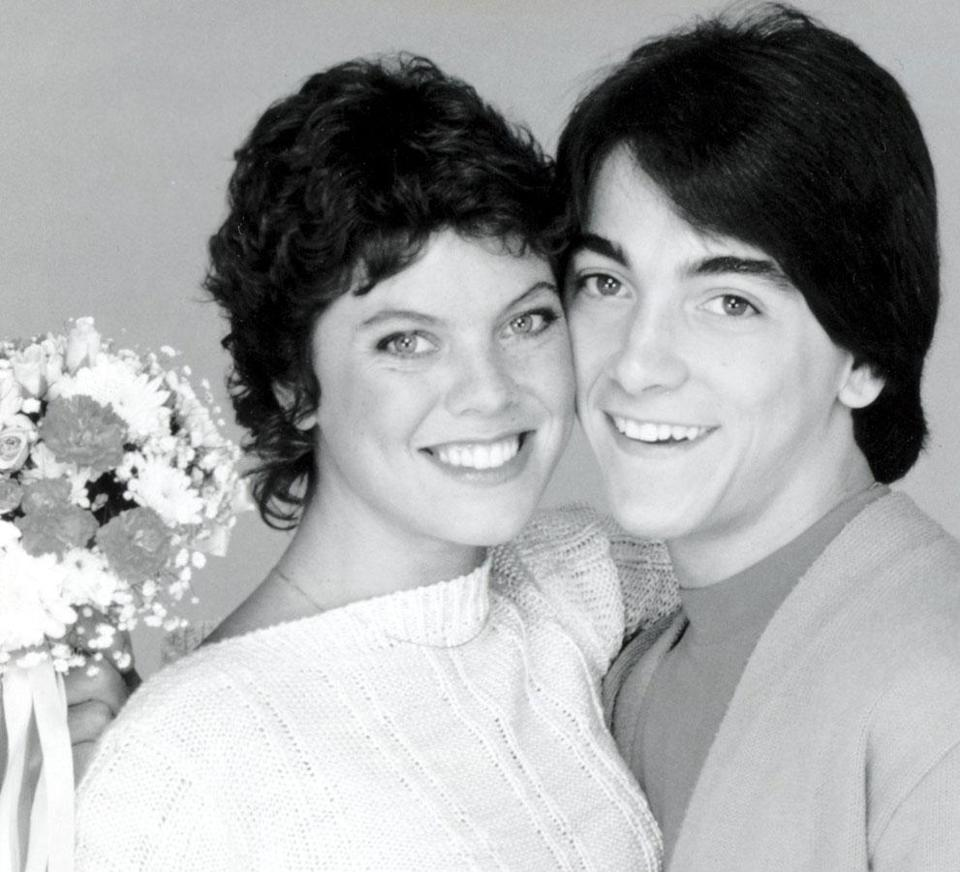 """Joanie Loves Chachi,"" 1982 - 1983."