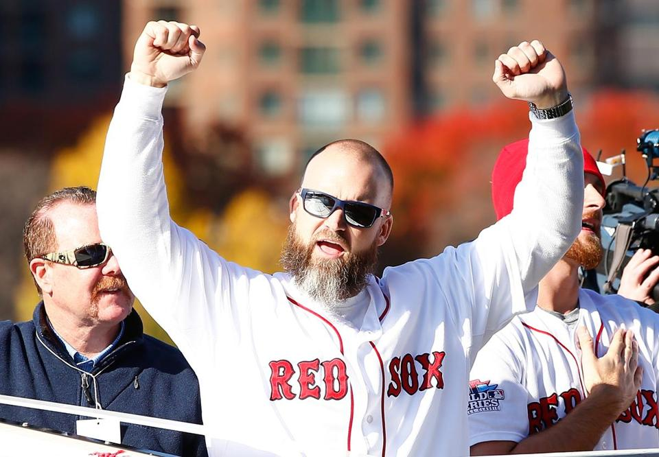 "Winning a world title, said David Ross, ""gave me validation and confidence in what I do and how I do it. And that's very important for a player."""