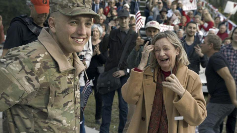 Budweiser's ''Hero's Welcome'' ad chronicled a soldier's homecoming in Winter Park, Fla.