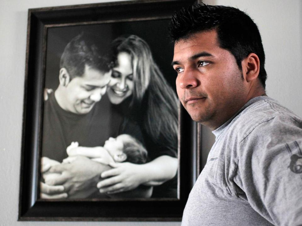 Erick Munoz sued a hospital to get his wife taken off life support.