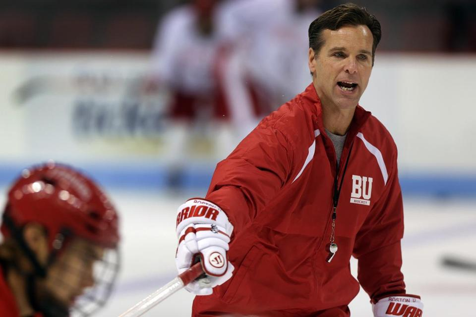 When asked about transitioning through this season, BU coach David Quinn said it hasn't been as difficult as people on the outside may think.